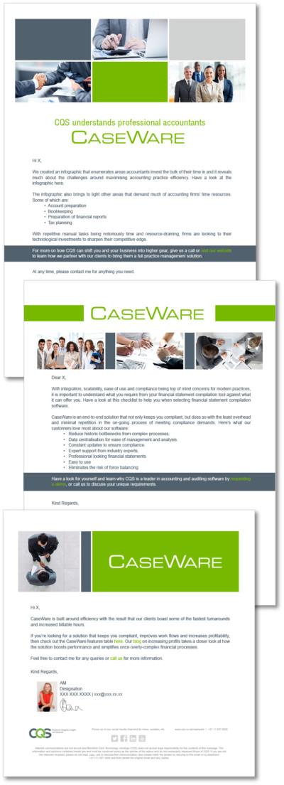 CaseWare Email Campaign