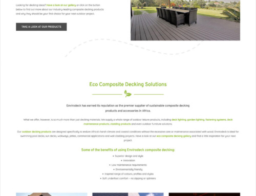 Website Design – Envirodeck