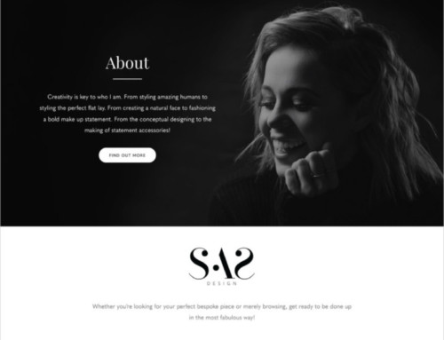 Website Design – Sarah Ann Styles